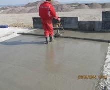 Platforme petroliere dalate si betonate