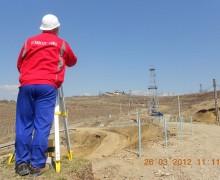 Platforme petroliere pietruite